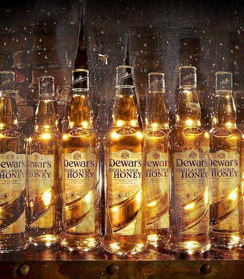 Dewar's - Honey Bottles