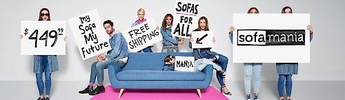Sofa Mania - Blue Couch